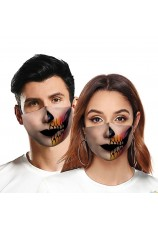 masque de bouche 1/2 visage