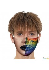 masque de bouche 1/2 visage bis
