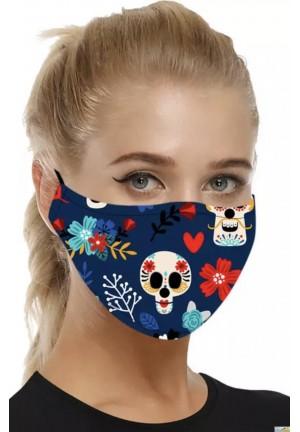 masque de bouche halloween