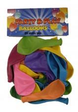 25 Ballons standarts assortis