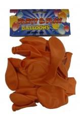 25 ballons standarts orange