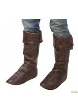 sur bottes faux cuir
