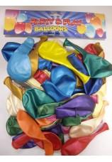 100 ballons standart assortis