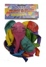 25 ballons happy birsday