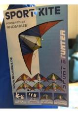 Cerf-volant acrobatique Rhombus