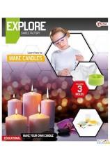 bricolage fabrication de bougies