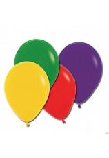 12 ballons 30 cm multi colors