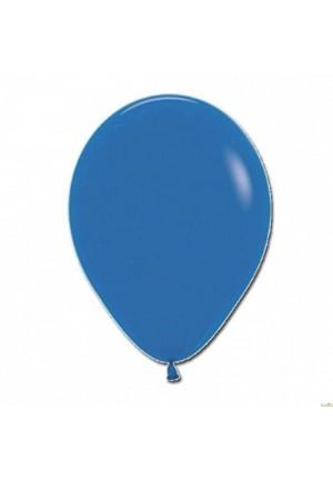 12 ballons 30 cm bleu