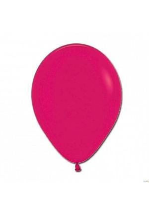 12 ballons 30 cm fushia