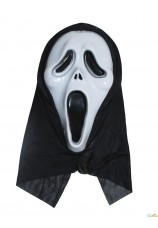 masque de scream avec cagoule