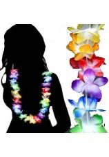 Collier hawaien multicolor