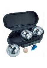 Set de 3 boules de pétanque + cochonet
