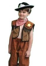 deguisement cow boy tailles de 4 à 8 ans